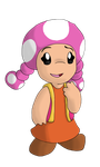 Mario Collab - Toadette by NebulaWords