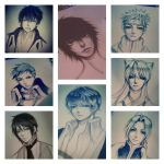 yesterday's drawing spams by thumbelin0811