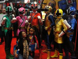 Power Rangers - NYCC 2012 by SpideyVille