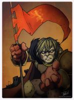 Tyrion Lannister by juliodelrio