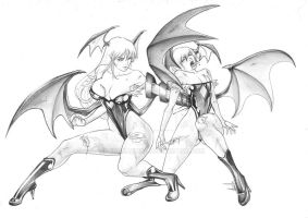 Morry vs lilith by franja2190