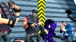 They never saw a cyborg pony befor by Assassin1025