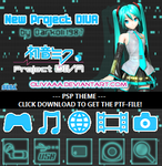 Project DIVA PSP Theme by olivaaa