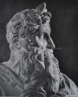 Moses di Michelangelo by WingobiaArtGraphic
