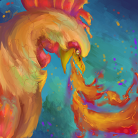 Rooster by SunsetFlareX