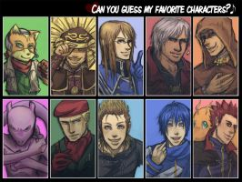 favorite characters meme by Envos-the-Bouncy