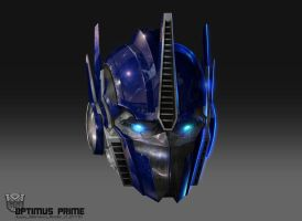Optimus Head by AugustoBarranco