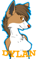 DYLAN CON BADGE by RedSunAtDawn