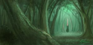 forest by Valiance