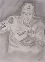 Ryan Kesler Vanouver Canucks by Shan317