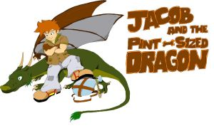 Jacob and the Pint Sized Dragon by outstar1979