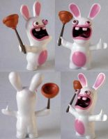 Raving Rabbid by angotti81