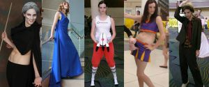 Megacon 2012 Cosplay Collage by theenvylover