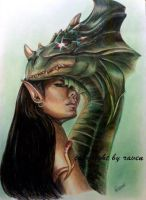 Green Guardian by RavenMorgoth