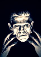 Traditional Frankenstein by TheNightGallery