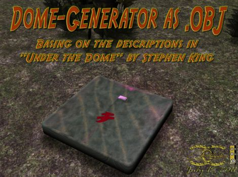Dome-Generator as .OBJ by ancestorsrelic