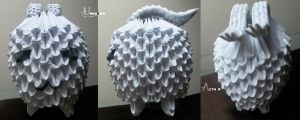 3D Origami - Tokomon by Jobe3DO