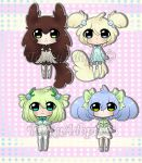 Baby Chibi Adopts (open) by TakkuAdopts