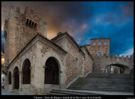 Caceres Barrio Monumental by ufinderip
