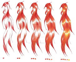 color process for orange hair by Naoko-uchiha
