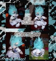 Plushie Grimmjow Jeagerjaques by astridaol