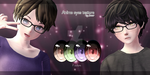 MMD Anime eyes texture + DL by carbonx44