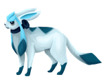 Glaceon by Messenger-Pigeon