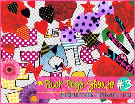 Pack 3 Pngs Shoujo by akumaLoveSongs