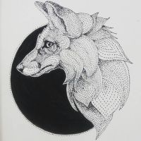 InkTober Day 20: The Fox by artifexToils