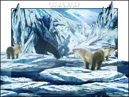 polar bear by Sudden-crusader