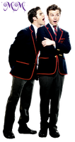 Kurt and Blaine PNG 2 by TwilightCullenette
