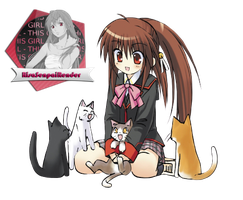 Little Busters!_5 by RisaSenpaiRender