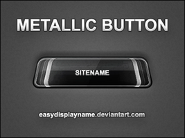 Metallic Button - .psd by easydisplayname