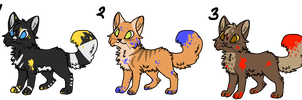 Painter Cats - Point Adoptables - OPEN by Thief-Of-Eternity