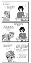 The truth about Rainbow Dash by Crydius