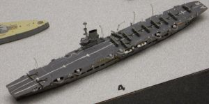 WWII HMS Ark Royal Model by rlkitterman