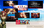 1st Anniversary Psd Pack by Aura-Blade4