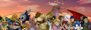 Smash King Youtube Banner V1 by Tigura