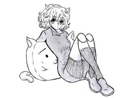 Neferpitou - Hunter x Hunter by carolinachaves