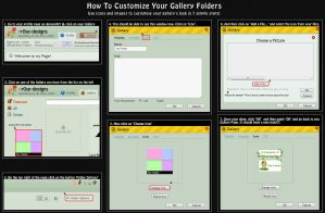 How to customize your Gallery Folder Icons by r0se-designs