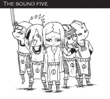 The Sound Five by Thor-kun