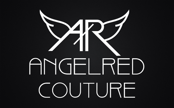 AngelRED Couture Official Logo Print by BloodAppleKiss