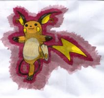 Raichu by twilightlinkjh