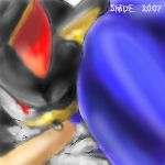 WOOT_it's sonic and shadow by f-sonic
