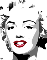Marilyn Monroe - Vector by mattH27
