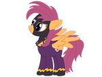 Shadowbolt Scootaloo by Xaphriel