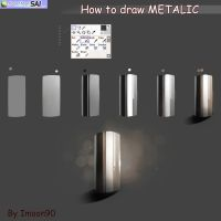 Metallic Tutorial by Imoon90