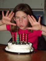 My 12th birthday pic1 by CometStre