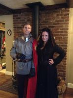 Halloween..arthur and morgana by Littlestplushoppe