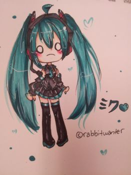 the miku by rabbitwanter